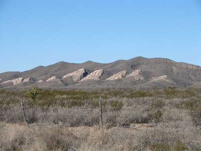 Day 158 - Los Caballos, Old & Young Mtns