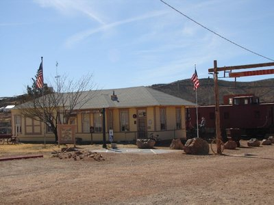 Day 165 - Tombstone, RR Depot