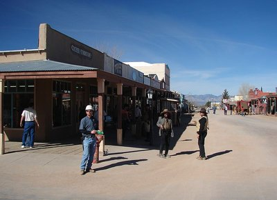 Day 165 - Tombstone, Street Corner