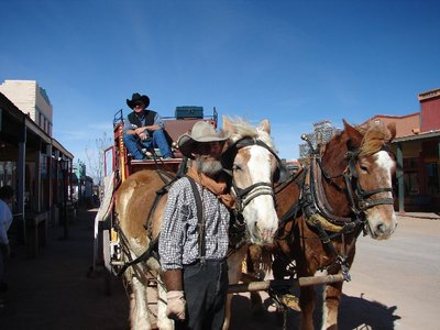 Day 165 - Tombstone, Stagecoach Hands