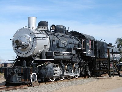 Day 171 - Yuma Qtr Depot, Train Engine