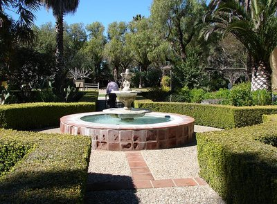 Day 178 - Mission Santa Ines, Garden &#38; Fountain