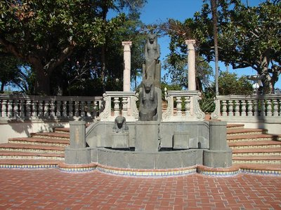 Day 180 - Hearst Castle, Egyption Statues
