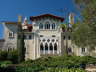 Day 180 - Hearst Castle, Side of House