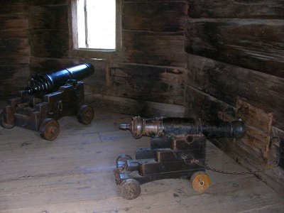 Day 197 - Fort Ross, Blockhouse Cannon