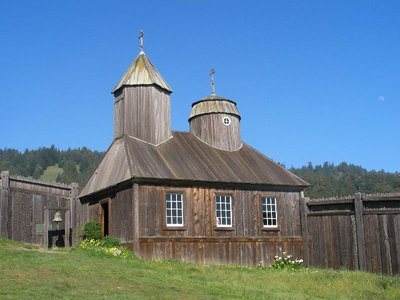 Day 197 - Fort Ross, Chapel