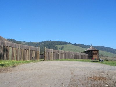 Day 197 - Fort Ross, Outside Gate