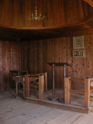 Day 197 - Fort Ross, Chapel Interior