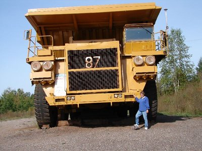 Day 19 - Cliffs Shaft Mine, Ore Truck