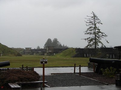 Day 207 - Fort Stevens, Gun Battery
