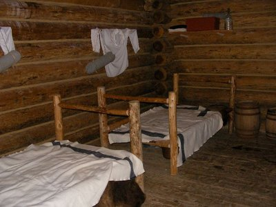 Day 207 - Fort Clatsop, Cabin