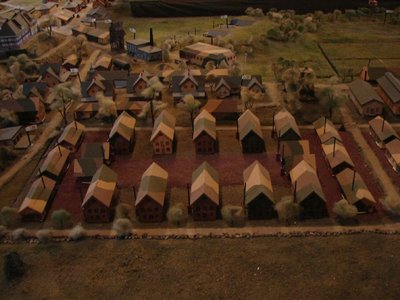Day 207 - Fort Stevens, Model of Barracks