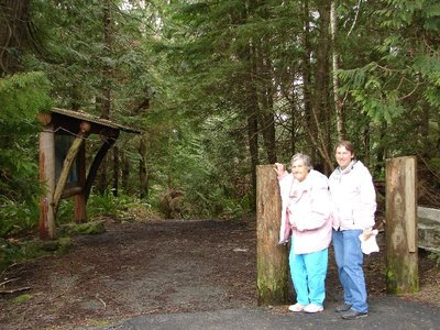 Day 210 - Cape Flattery, Mom & JL