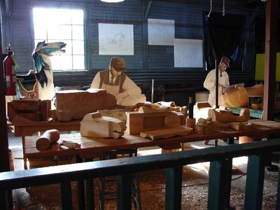 Day 29 - Carrousel Museum, woodshop