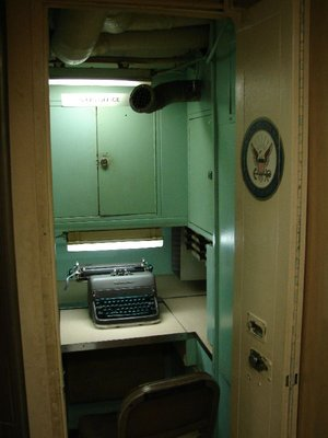 Day 50 - USS Albacore, Ships Office