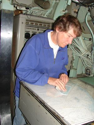 Day 50 - USS Albacore, Chart Room