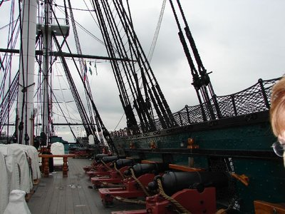Day 53 - USS Constitution, Spar Deck Guns