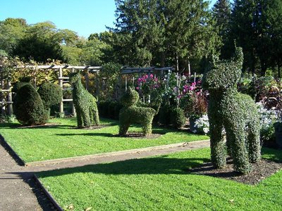 Day 58 - Topiary Gardens, Animals