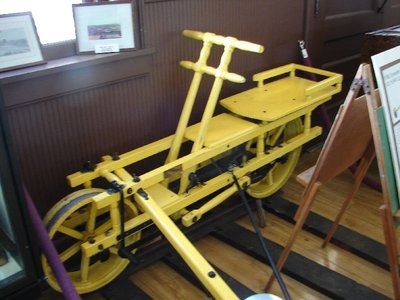 Day 62 - Danbury Railway Museum, Velocipede