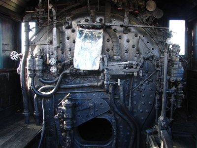 Day 62 - Danbury Railway Museum, Steam Engine Controls