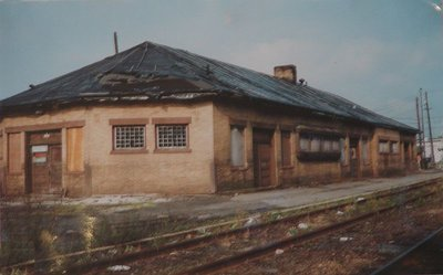 Day 62 - Danbury Railway Museum, Depot before Restoration