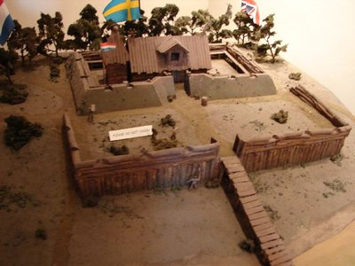 Day 76 - New Castle, Model of Fort Casimir