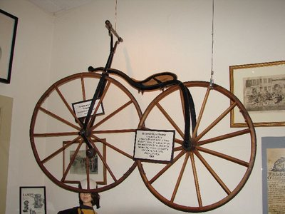 Day 77 - Velocipede Museum, Brownell Bone Shaker