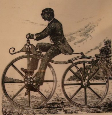 Day 77 - Velocipede Museum, 1866 Bicycle Illustration