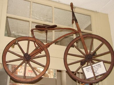 Day 77 - Velocipede Museum, Childs Bone Shaker