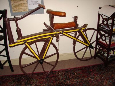 Day 77 - Velocipede Museum, 1819 Dandy Horse