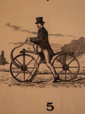 Day 77 - Velocipede Museum, Illustration of Dandy Horse