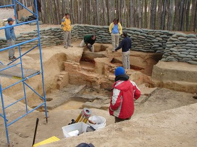 Day 89 - Jamestown, Archeologists
