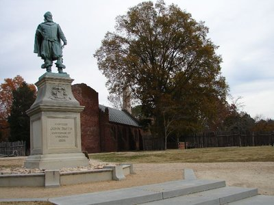 Day 89 - Jamestown, Captain Smith Statue