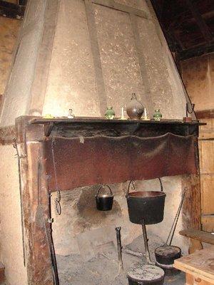Day 91 - Jamestown Stlmt, Fireplace
