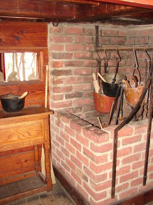 Day 91 - Jamestown Ships, Susan Constant Stove