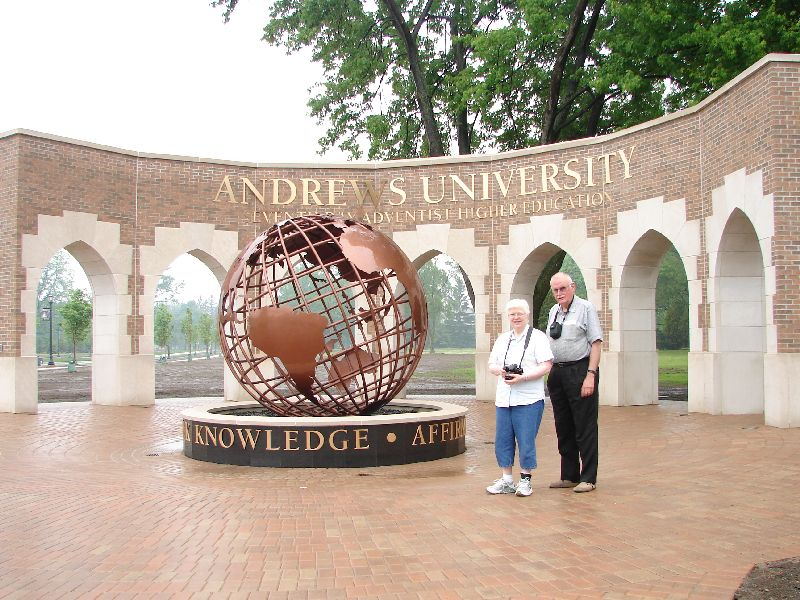 2nd Trip - New Andrews Univ. Entrance