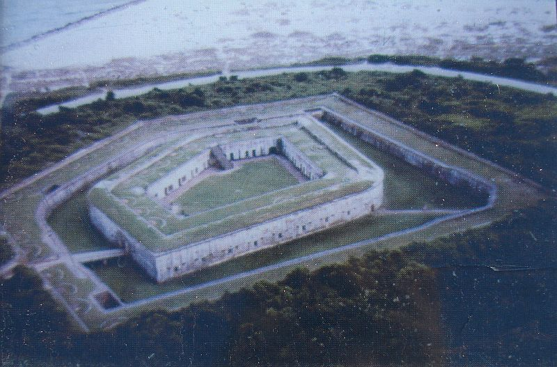 Day_101_-_Fort Macon, Aerial_Photo