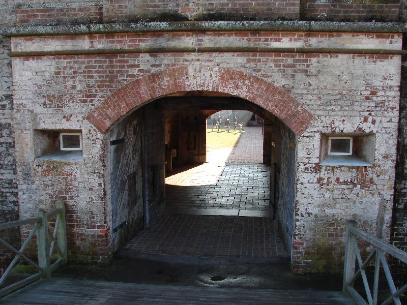 Day_101_-_Fort Macon, Main__Gate