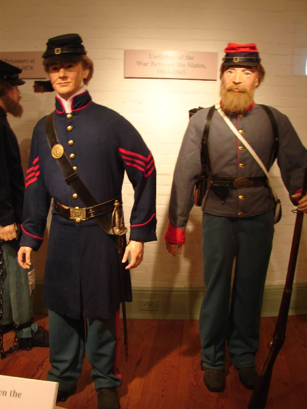 Day_101_-_Fort Macon, Civil War Uniforms