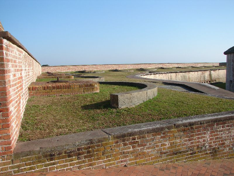 Day_101_-_Fort Macon, Outter_Wall