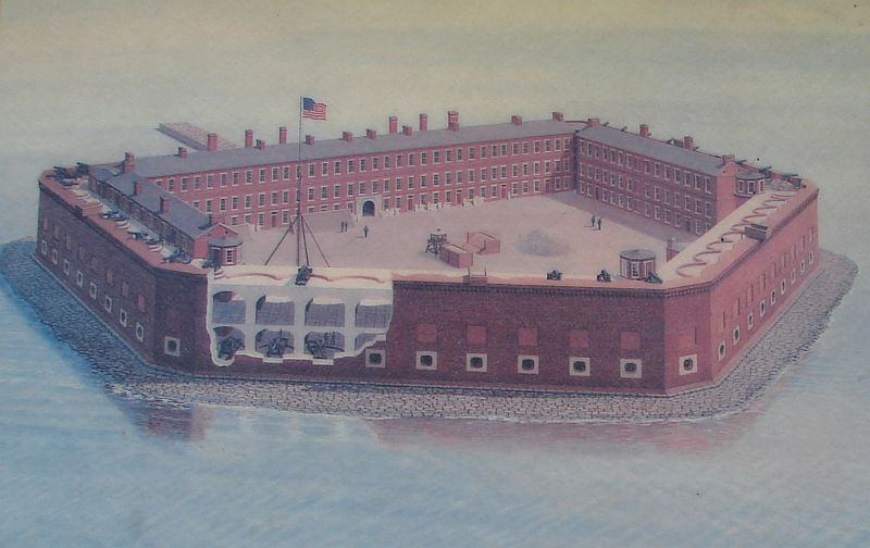 Day_107_-_Fort Sumpter, Orig. Fort Drawing