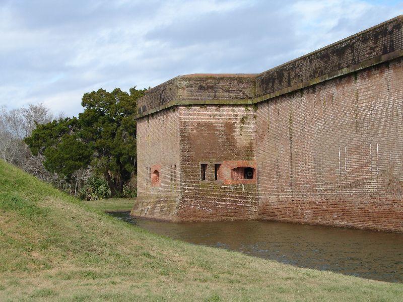 Day_111_-_Fort Pulaski, Moat