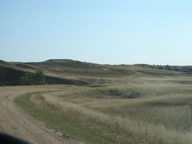 Day 11 - Badlands Gravel Road