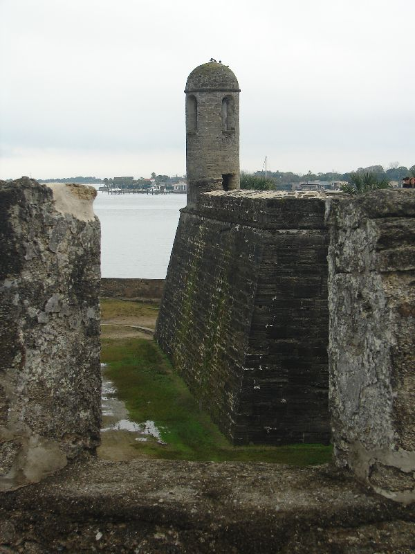 Day 134 - Castillo de San Marcos, SE Bastion