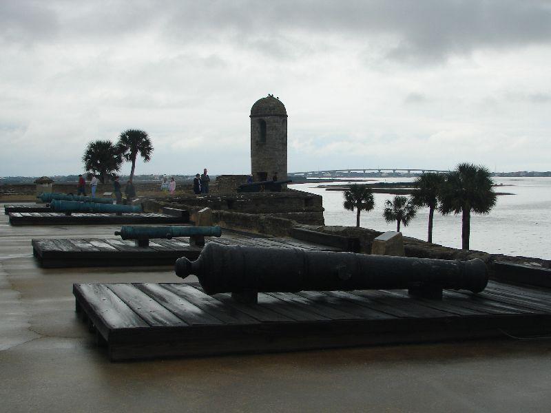 Day 134 - Castillo de San Marcos, Gun Deck - West