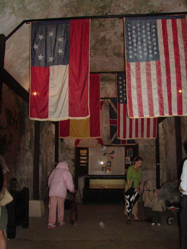 Day 134 - Castello de San Marcos, Casemate Museum