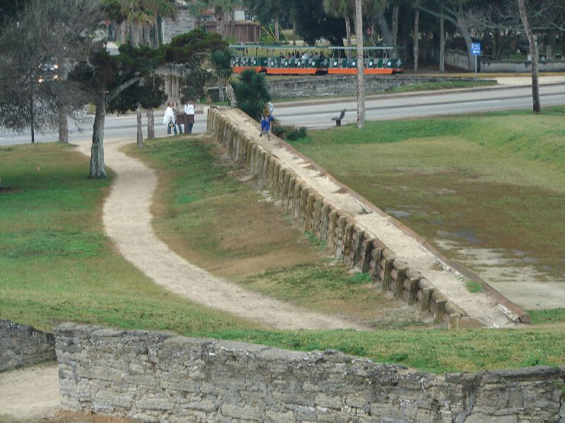 Day 134 - Castillo de San Marcos, Cubo Line