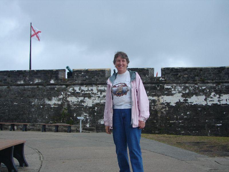 Day 134 - Castillo de San Marcos, JL