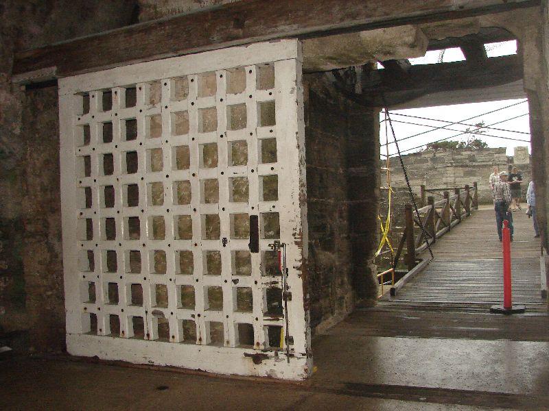 Day 134 - Castillo de San Marcos, Sally Port
