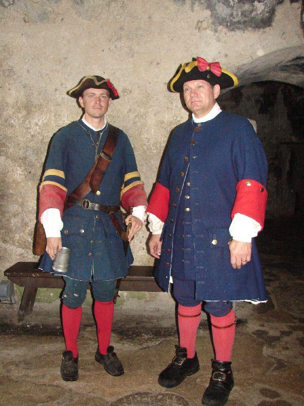 Day 134 - Castillo de San Marcos, Spanish Soldiers